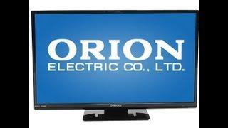 "Orion 24"" LED LCD HDTV SLED2468W Unboxing"