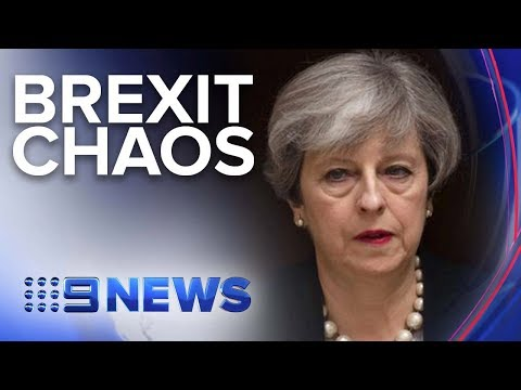 UK PM Theresa May Expected To Resign | Nine News Australia