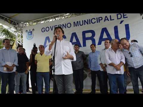EUNICIO OLIVEIRA EM ACARAÚ CE. 16 MARÇO TIDE ANDRADE