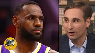 The Lakers are on a 70-win pace, but that is not going to happen - Zach Lowe | The Jump