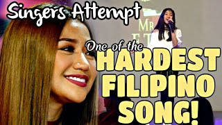 Singers Attempting AKIN KA NA LANG (Morissette amon) BEST COVERS