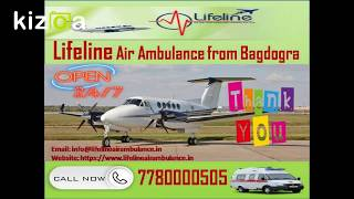 Get Low-Cost Lifeline Air Ambulance from Bagdogra for Fast Patient Transfer