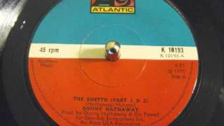 Donny Hathaway - The Ghetto (Part 1 & 2)
