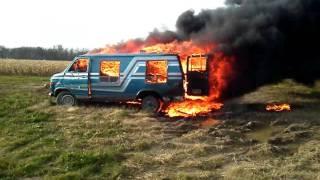 Exploding Target Van 2