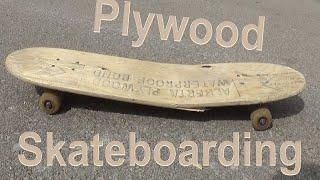 Plywood Skateboarding