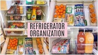 REFRIGERATOR ORGANIZATION IDEAS | Clean and Organize with me | Tara Henderson