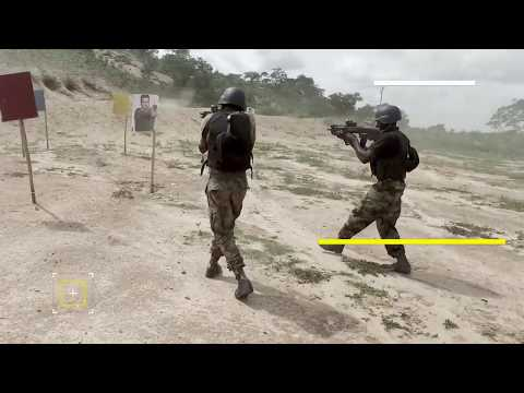 FOUR TROOP TRAINING NAF RGIMENT {HD}