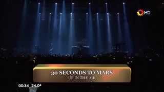 30 Seconds To Mars - Up In The Air Live Luna Park 2014