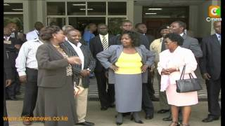 Just Where Is Mama Lucy Kibaki?
