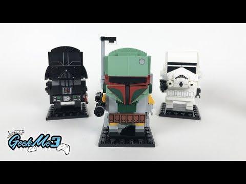 Vidéo LEGO BrickHeadz 41629 : Boba Fett