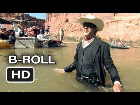 The Lone Ranger Complete B-Roll (2013) - Johnny Depp, Armie Hammer Western HD