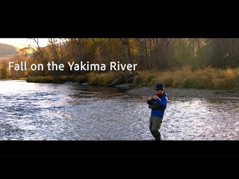 Fall Fishing on the Yakima River Slow Jam Edition