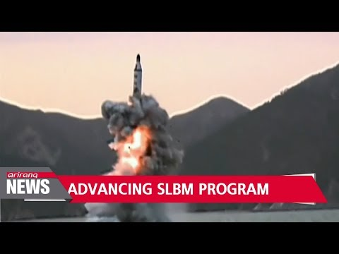 North Korea preparing to develop submarine-launched ballistic
