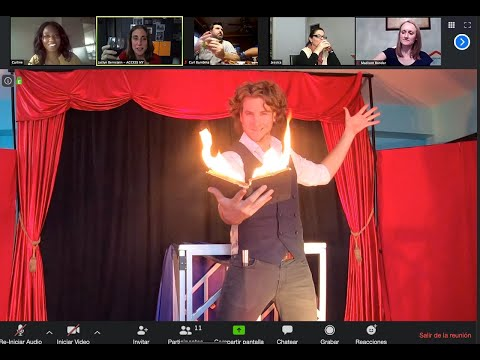 Online Magic Show and Lessons