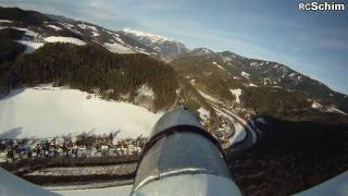 preview picture of video 'Cularis at Huyckfield - showing beautiful mountains around gloggnitz (Rax in BG)'