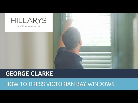 How to dress Victorian bay windows with George Clarke and shutters