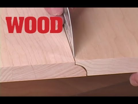 How to Make a Drop Leaf Table Joint (Rule Joint) -- WOOD magazine