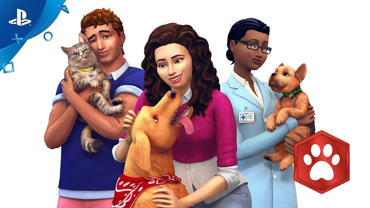 The Sims 4 Cats & Dogs Coming to PS4 July 31