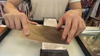 中式菜刀怎樣磨?