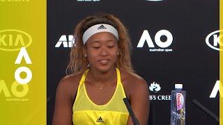 Naomi Osaka press conference (2R)   Australian Open 2018