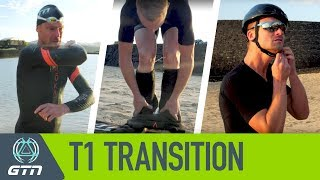 T1 Triathlon Transition | How To Go From Swim To Bike