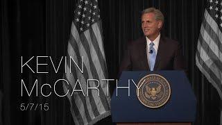 A Reagan Forum with Congressman Kevin McCarthy — 5/7/15