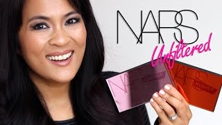 The NARS Unfiltered I and Unfiltered II Cheek Palettes