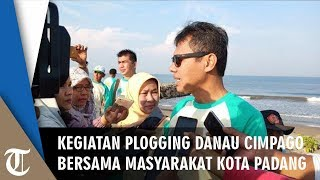 Kegiatan Plogging di Danau Cimpago Bersama Masyarakat Kota Padang