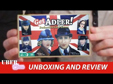 Get Adler Unboxing and Review by Uberclass