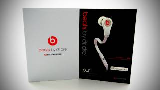 Beats by Dr Dre Tour Unboxing (White) thumbnail