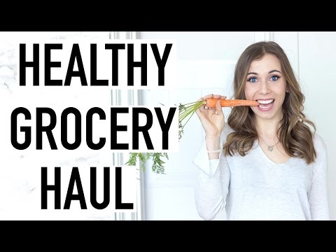 Video HEALTHY GROCERY HAUL! Healthy Foods That CHANGED The Way I Eat!