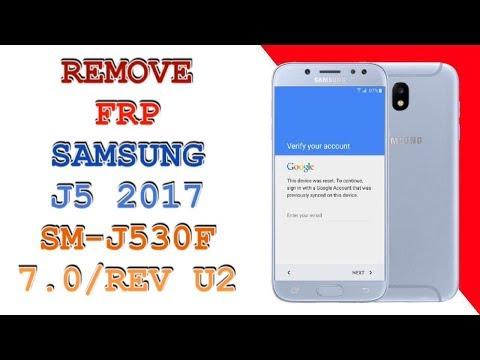 Boom!!! Samsung J5 2017 SM-J530F Remove Google account