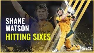 Shane Watson: 60 seconds of sixes