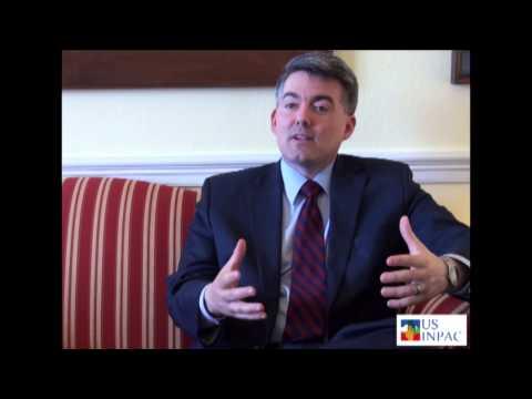 USINPAC Videos  USINPAC Interview with Congressman Cory Gardner