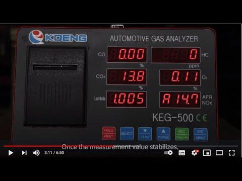 mp4 Automotive Gas Analyzer Keg 500, download Automotive Gas Analyzer Keg 500 video klip Automotive Gas Analyzer Keg 500