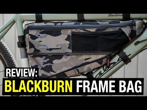 Review: Blackburn Bikepacking Frame Bag