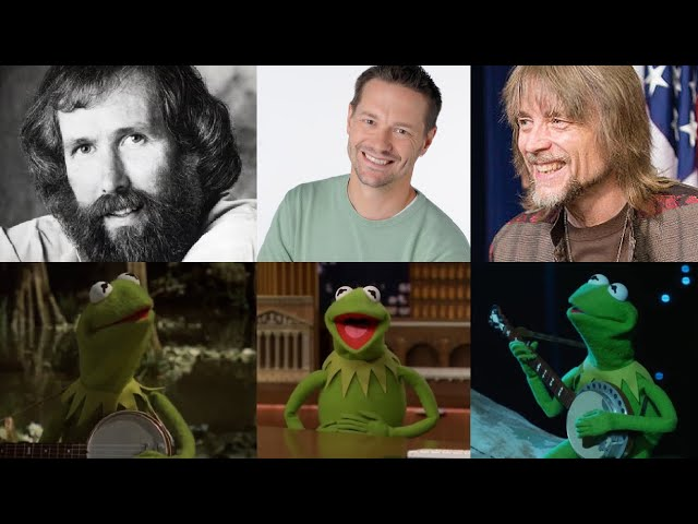 Three Kermits Sing Rainbow Connection [Jim Henson/Steve Whitmire/Matt Vogel]