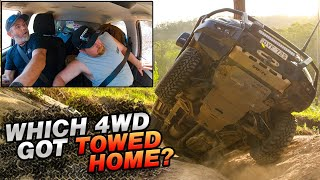 The Track that damaged EVERY 4WD + we find Australia\'s BEST BEACH CAMPSITE! Glasshouse Mountains 4x4