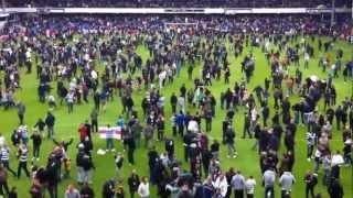 preview picture of video 'Stoke City 0 - 1 QPR - Pitch Invasion End of the Match - 6/5/2012'