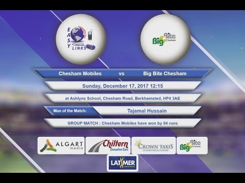 Video Chesham Mobiles VS Big Bite Chesham - 17-Dec-2017