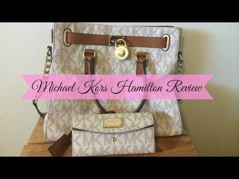Michael Kors Vanilla Logo Hamilton Review