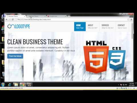 Learn How to Build a Business Theme Using Bootstrap - Part 3