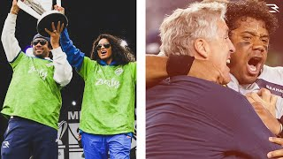 My Crazy 48 Hours! | MNF Win | Seattle Sounders MLS Cup Parade | Russell Wilson