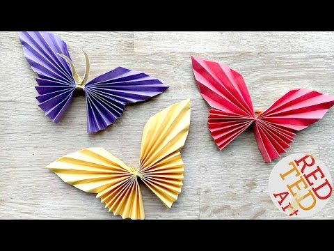 Easy Paper Butterfly Origami - Cute & Easy Butterfly DIY - Origami For Beginners Mp3