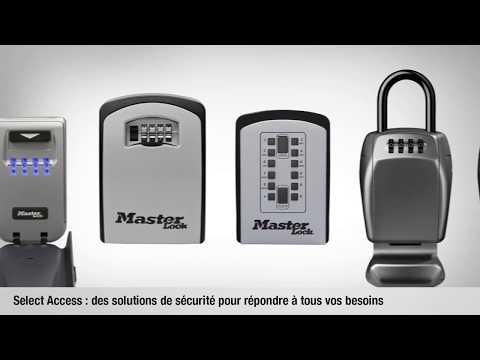 Capture d'écran de Master Lock Select Access® 5426EURD/5428EURD