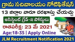 AP Grama/Ward Sachivalayam Jobs Recruitment Notification 2021 details in telugu   Energy Assistant