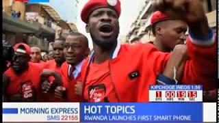 Uganda's Bobi Wine escape arrest as Museveni registers as a musician.