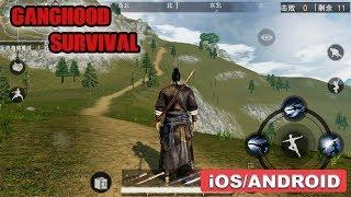GANGHOOD SURVIVAL - iOS / ANDROID GAMEPLAY
