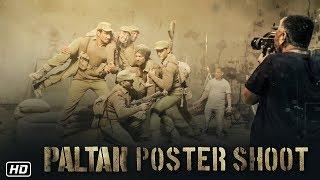 Paltan Poster Shoot   Paltan   7th Sept   J P Dutta   Arjun Rampal, Sonu Sood