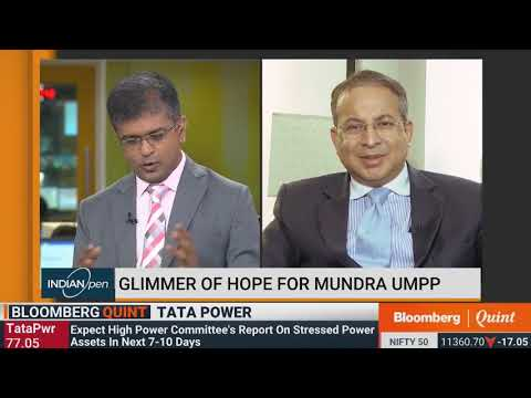 Mr. Praveer Sinha , CEO & MD , Tata Power 's Live interview with Bloomberg Quint